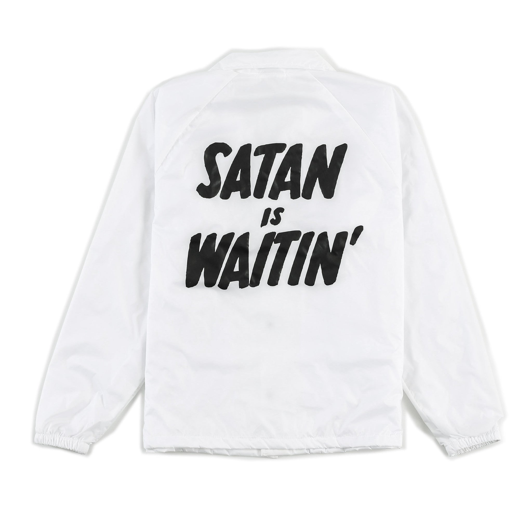 SATAN IS WAITIN' COACHES JACKET