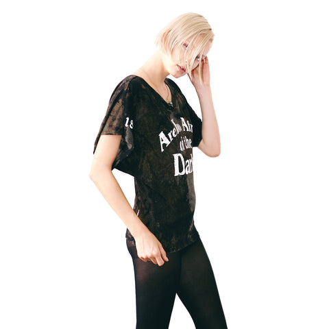 DARKNESS DOLMAN TEE (LIMITED EDITION)