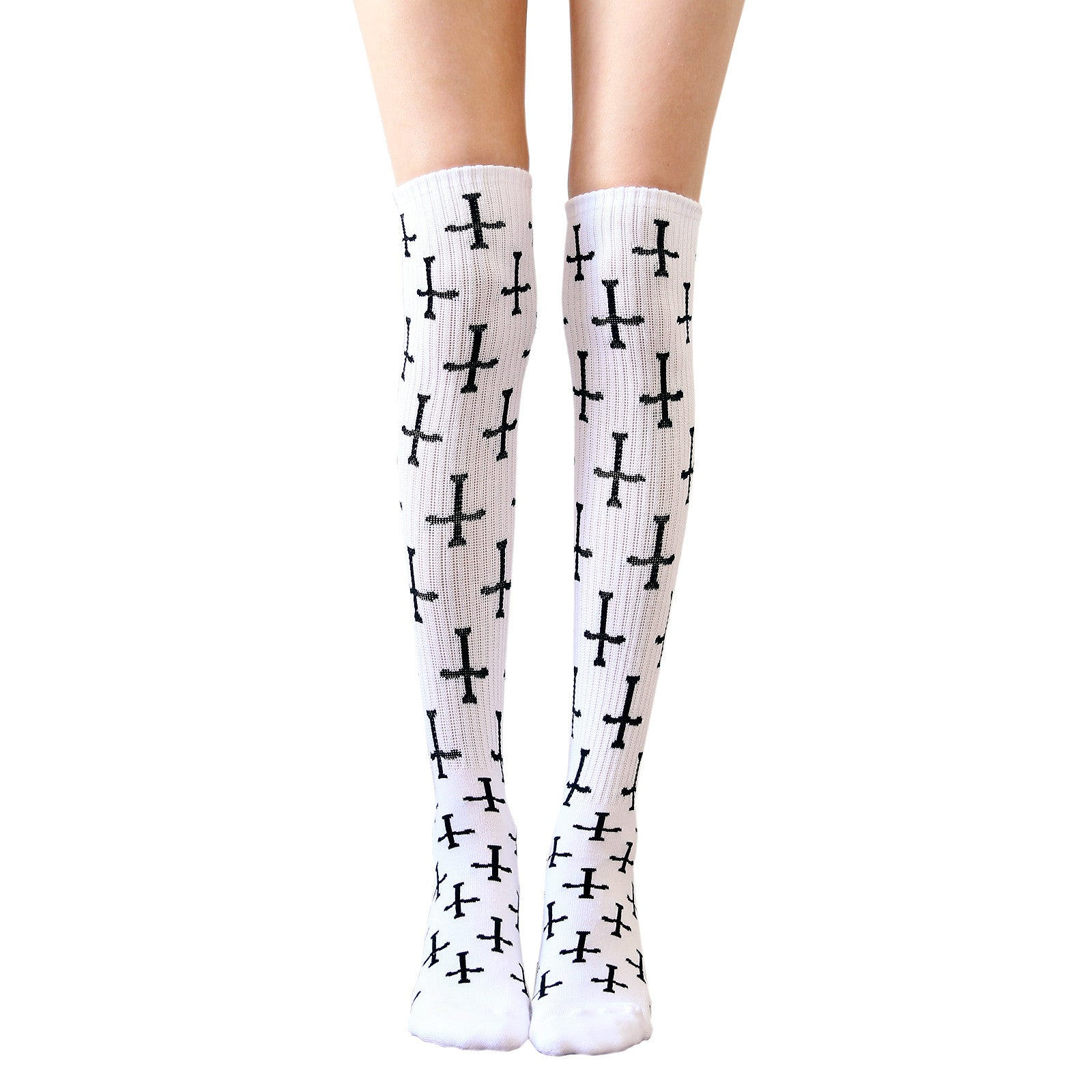 UNHOLY KNEE HIGH SOCKS