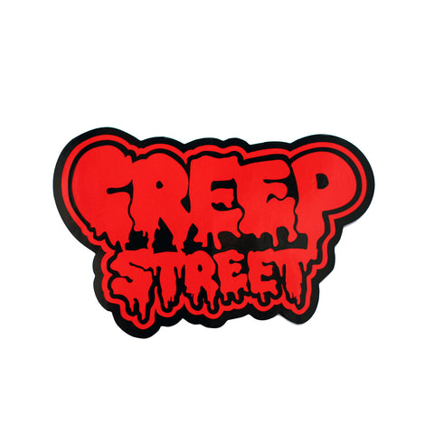 CREEP STREET LOGO STICKER
