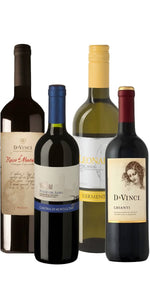 Atlantic Wines Tuscan Time Out Vino Survivor Mixed Dozen