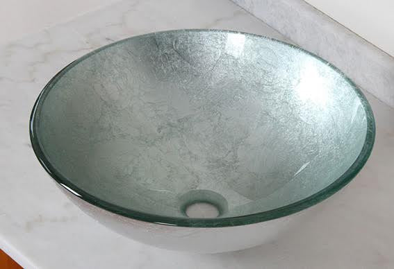 Tacori Hand Made Tempered Glass Vessel Sink