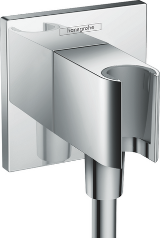 Hansgrohe FixFit Wall outlet square with shower holder