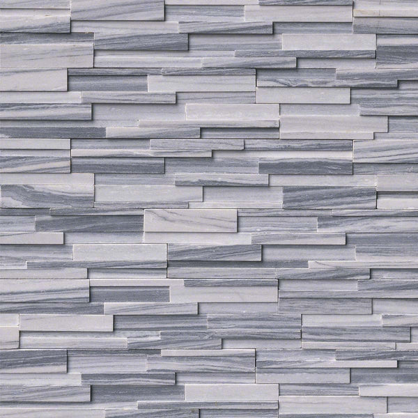 Alaska Grey 3D Honed Ledger/Stacked Stone Panels