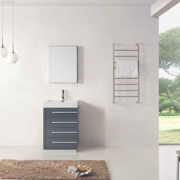 "SognareBailey Vanity Grey 24""Full Set (call us for currents promotions and discounts)"