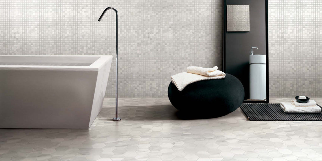 Happy Floors Bardiglio Polished Rectified Porcelain Tile Made In