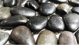 Galaxy Black Polished Pebble Tile