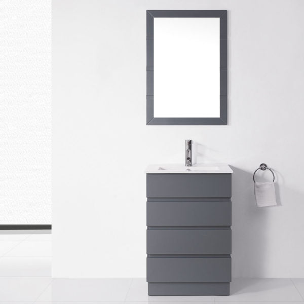 "SognareBruno Vanity Grey 24""Full Set (call us for currents promotions and discounts)"
