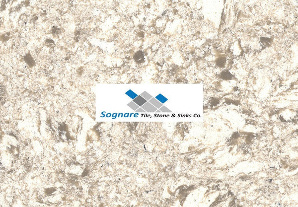 Chrome White Quartz Countertop Sognare Tile Amp Stone