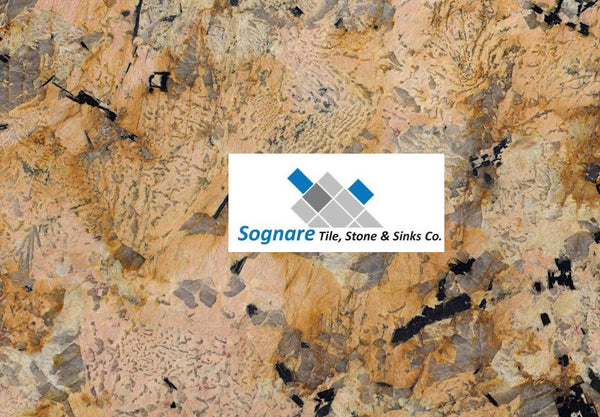 Golden Flakes Granite