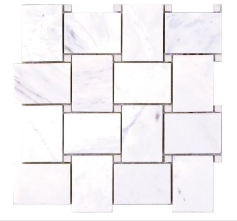 Elysium Milano White House Marble Mosaics (please call us for pricing)