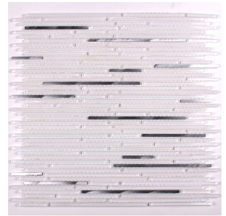 Elysium Metal Whiskers White Mosaics (please call us for pricing)