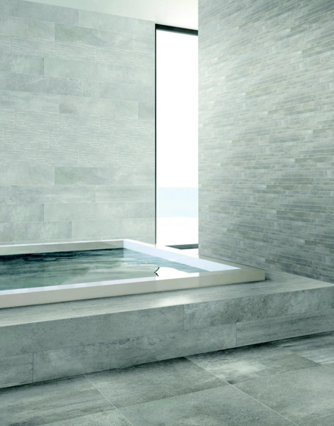 Elysium Cell Original Grey Rectified Porcelain Tile 12x24 (Please call us for pricing)