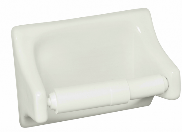 Sognare Bone Toilet Tissue Holder 4x6 (shipping charges apply)