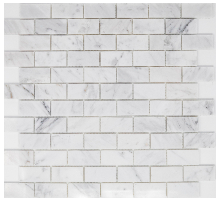 Elysium Precious Stone Carrara Brick 12x12  (call us for pricing)