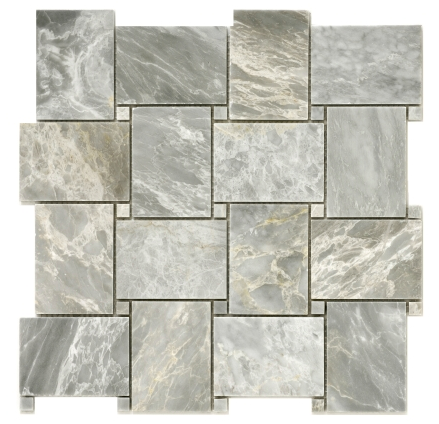 Elysium Precious Stone Carrara Grey House 11.75x11.75  (call us for pricing)