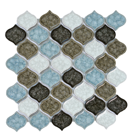 Elysium Van Gogh Abby Glass and Marble Mosaics 11x11 (call us for special pricing)