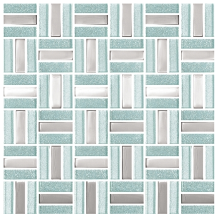 Elysium Tunis Glass and Metal Mosaics 12x12 (call us for special pricing)