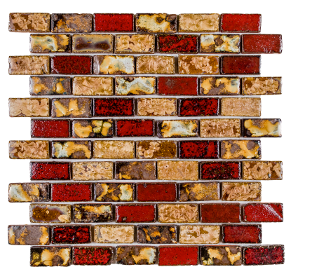 Elysium Tropical Stack Glass Mosaics 12x12 (call us for special pricing)