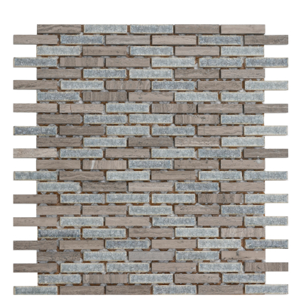 Elysium The Grey Glass & Marble Mosaics 12x12 (call us for special pricing)