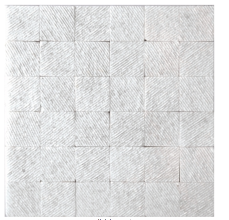 Elysium Textured Thassos Marble Mosaics 12x12 (call us for special pricing)
