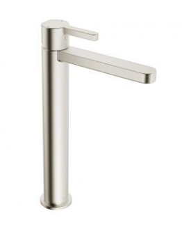 in2aqua Edge one-hole single-lever vessel mixer, brushed nickel (please call us for special pricing)