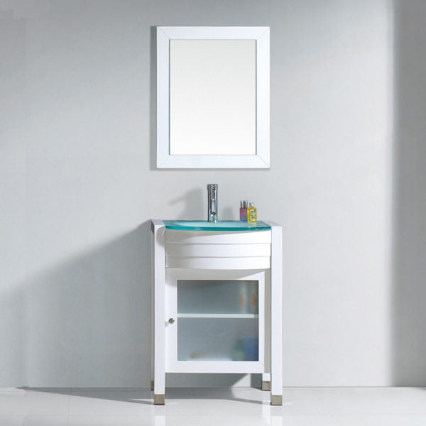 "SognareAva Vanity White 24""Full Set (call us for currents promotions and discounts)"