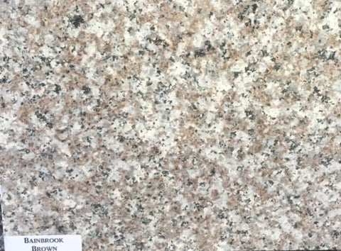Bainbrook Brown or Tea Brown Granite