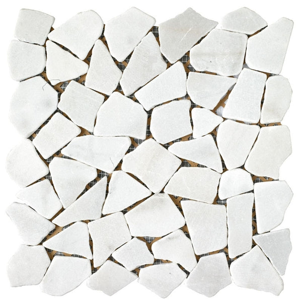 Tile Blanco Juliano Mosaic 12x12 Mosaic