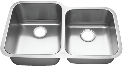 "Blanco Stainless Steel Double (60/40) Bowl Sink (32-1/3"")"