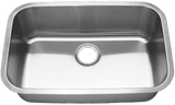 "Blanco Stainless Steel Super Single Bowl Sink (28"")"