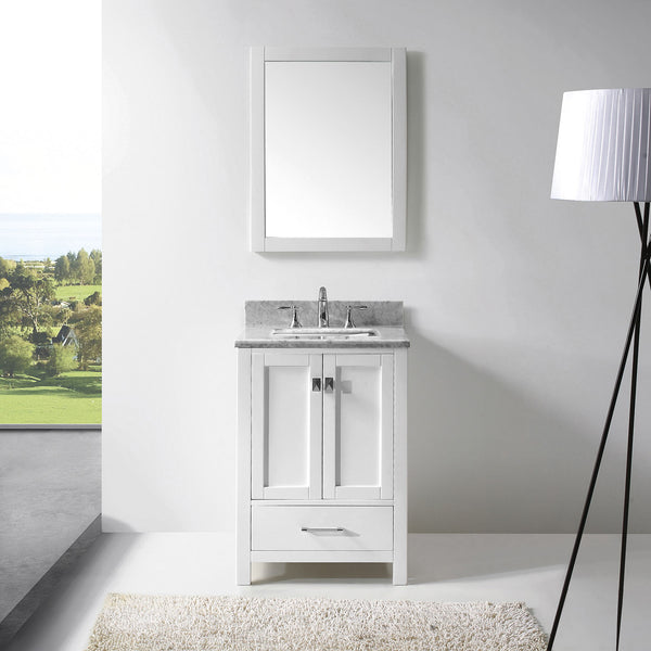 "SognareCaroline Avenue 24"" White Vanity (call us for currents promotions and discounts)"
