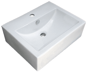 China Shell Porcelain Boxed Vessel Sinks  (March Special - FREE SHIPPING!)