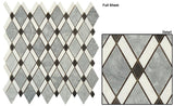 GT Marble Mosaic & Listello Diamond Series (may qualify for free shipping)