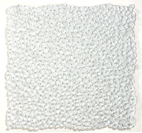 GT White Glass Glacier Raindrop Mosaic (may qualify for free shipping)