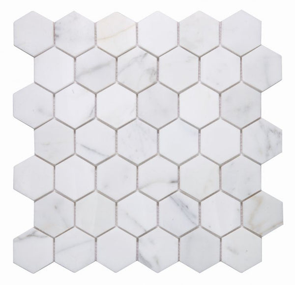 Elysium Hexagon Calacatta Gold
