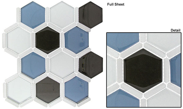 GT Honeycomb Glass Mosaic Series (may qualify for free shipping)