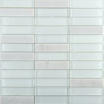 Tile Illumina Mosaic Blend Glass & Stone