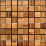"Natural Oak Natural Wood Mosaics 13""x13"" Sheet (May qualify for free shipping)"