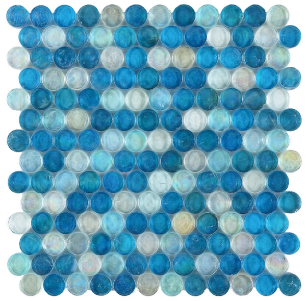 ELY Malibu Ocean Penny 12.25 x 12.25 (call for pricing)