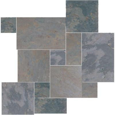 Earth Multi Color Slate Gauged Tile Sognare Tile Stone