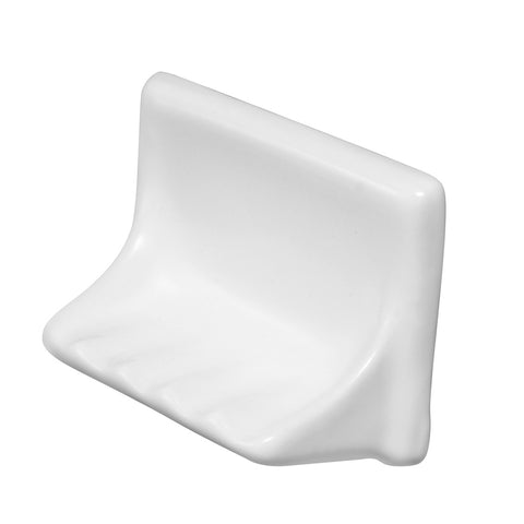 Sognare White Tub Soap Dish 4x6 (shipping charges apply)