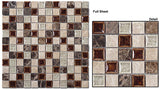 Glazzio Tile Tranquil coffee and cream TS901