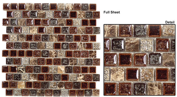 GT Offset Mosaic Tranquil Series (may qualify for free shipping)