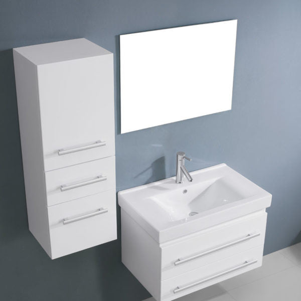 "Sognare ANT Vanity 29"" Single White Set (call us for a shipping quote & summer discount)"