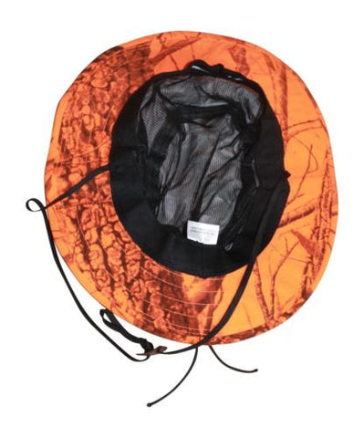 Blaze Orange Boonie Gore-Tex Realtree Hardwoods Blaze Waterproof Boonie Bush Hat