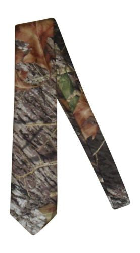 Mossy Oak Tie, Mens Break Up Camo Self-Tie Necktie, as seen on Duck Dynasty