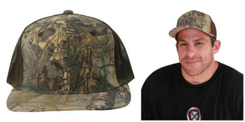 Realtree + Mossy Oak Blaze Trucker Hat Caps 2-Pack