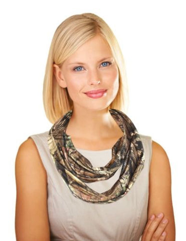 Mossy Oak Womens Infinity Scarf, Fall Weight,MOBUI