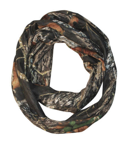 Mossy Oak Infinity Scarf Camo BU Loop Dress Scarf One Size Women Small-Plus Size